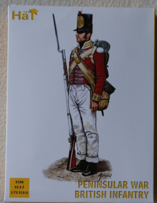HaT 1/72 HAT8186 Peninsular War British Infantry (Napoleonic)